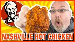 KFC ★ Nashville HOT Chicken ★ Review in Niagara Falls USA
