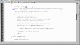 Java-ImportCSVFileIntoAnArray