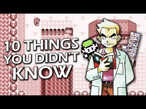 10 Things You Didn't Know About Pokémon Video Games
