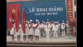 preview picture of video 'khai giảng lớp 6B trường THCS TRẦN MAI NINH TP. THANH HÓA năm 2012- 2013 PART. 1'