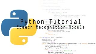 PYTHON SPEECH RECOGNITION TUTORIAL - Самые лучшие видео