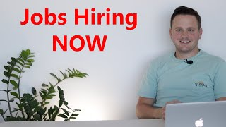 6 Jobs you can start NOW | Unemployed and looking for a job? | Jobs near me