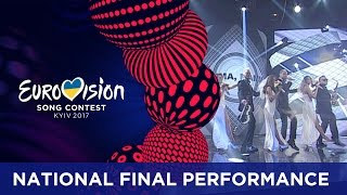 SunStroke Project - Hey Mamma! (Moldova) Eurovision 2017 - National Final Performance
