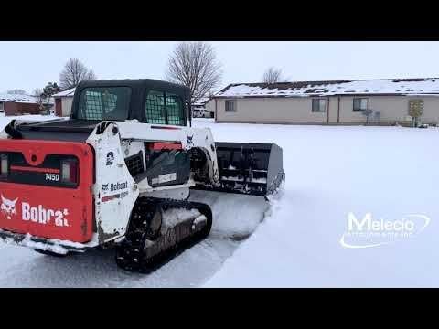 Sectional Trip Edge Snow Push