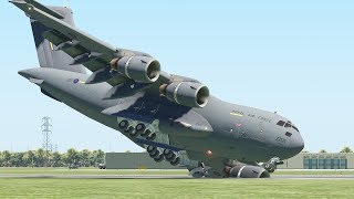 Worst Military Aircraft Emergency Landing From New Pilots   X-Plane 11