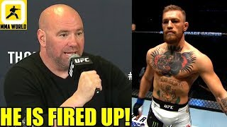 Conor McGregor is all fired up to make a comback and become a champion again,TJ Dillashaw vs Cejudo
