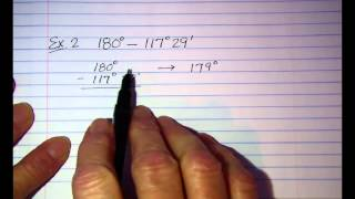 Calculating with Degrees  Minutes and Seconds
