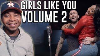 Maroon 5 - VOLUME 2 - Girls Like You (ft.  Cardi B)   REACTION