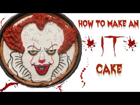 How To Make A Pennywise Cake!