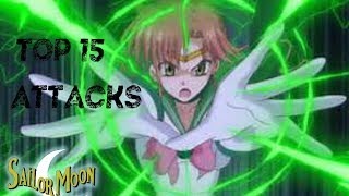 Top 15 Coolest Sailor Soldier Attacks
