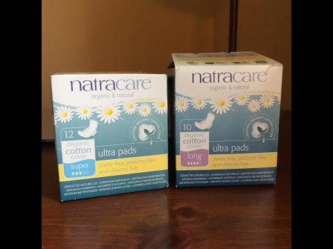 Natracare - Organic Pads and Tampons