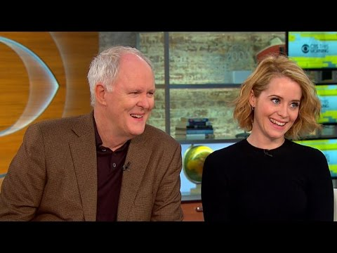 Lithgow and Foy on new royal drama,