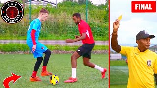 Playing in a PRO YouTubers FOOTBALL MATCH! (Crazy Futsal Skills Goals Nutmegs Fights)