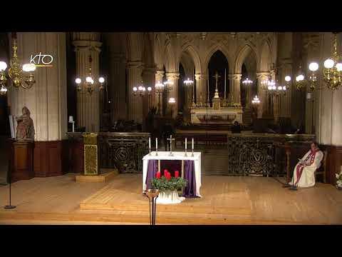 Vêpres du 3 décembre 2020 à Saint-Germain-l'Auxerrois