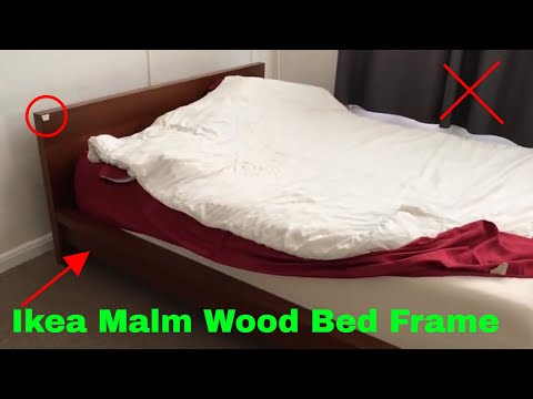 ✅  How To Use Ikea Malm Wood Bed Frame Review