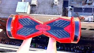 What Happens to a HoverBoard from 100FT Drop?? -WillitBREAK?