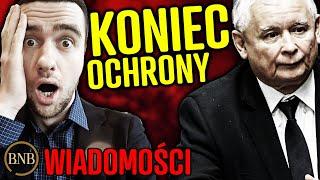 Kaczyński ma PRZESRANE! POLICJA nie będzie mu SŁUŻYĆ | WIADOMOŚCI