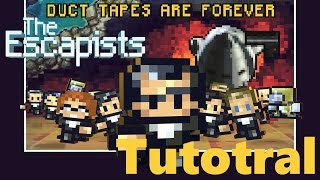 The Escapists - Duct Tapes Are Forever DLC - How to Escape Tutorial (Xbox One) (60fps)
