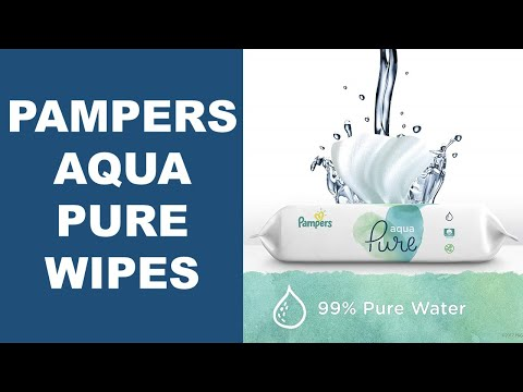 Pampers Aqua Pure Sensitive Water Baby Wipes