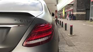 Mercedes-AMG E63s W213 Edition 1 / People reaction & loud start
