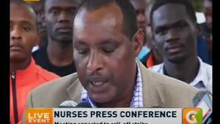 Healthcare professionals accuse gov't of favouring doctors in talks
