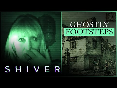 Impressive Ghostly Footsteps In The Library Are Caught On Camera - Most Haunted