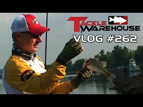 Fishing the Strike King Rage Cut R Worm for Barkley Bass w/Mark Menendez – Tackle Warehouse VLOG 262