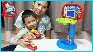 น้องบีม | รีวิวของเล่น EP117 | ชู้ตบาส5ห่วง Toys