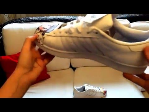 ADIDAS PHARELL SUPERSTAR UNBOXING