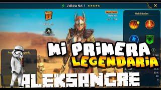 Raid Shadow Legends - Mi primera Legendaria - GAMEPLAY ESPAÑOL HD