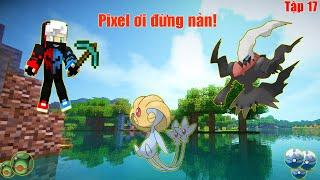 Uxie  - (Pokémon) - POKEMON UXIE THẦN BẢO VỆ HỒ VÀ DARKRAI SỨC MẠNH BÓNG MA CÙNG NOOB TEAM ** THẾ GIỚI PIXELMON #17