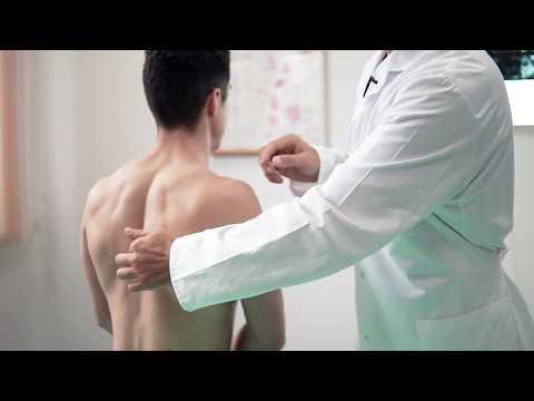 Колосовидную повязку на плечевой сустав видео