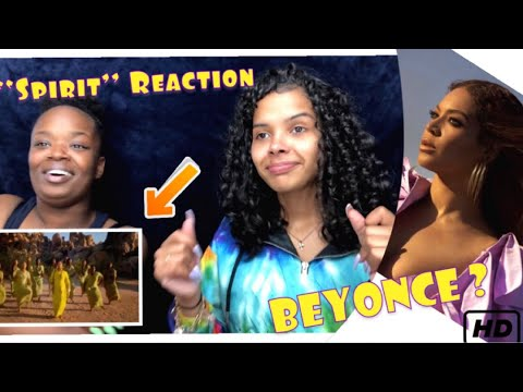 Beyoncé- SPIRIT from Disney's The lion king (Official Video) [Reaction]