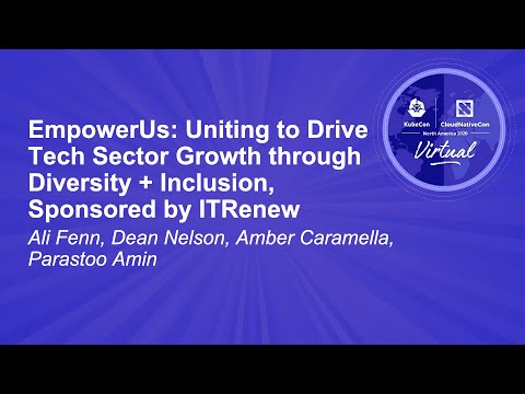 Image thumbnail for talk EmpowerUs: Uniting to Drive Tech Sector Growth through Diversity + Inclusion