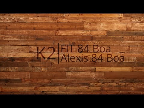Video: 2018 K2 Fit 84 Boa and Alexis 84 Boa Mens and Womens Inline Skate Overview by InlineSkatesDotCom