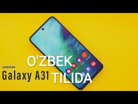 SAMSUNG GALAXY A31-O'ZBEK TILIDA// GALAXY TAB A8.4//GALAXY M41(51) TEXNOLOGIYA!!!