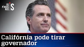 Governador da Califórnia pode ser removido do cargo. Se a moda pega…