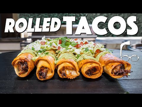 Dang: CHEESY JUICY BEEFY ROLLED TACOS AT HOME