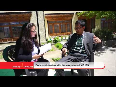 Exclusive interview with the newly elected MP, Jamyang Tsering Namgyal - Part I