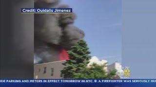 Massive Blaze Breaks Out In The Bronx