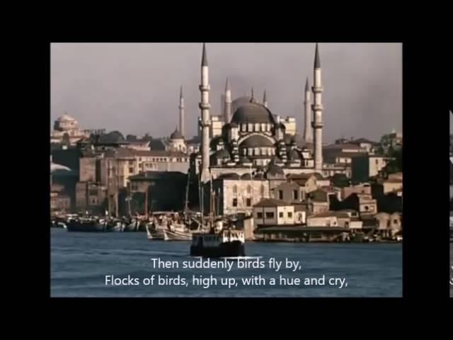 İstanbul'u dinliyorum (I am Listening to Istanbul)