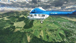 MSFS 2020 Helicopter Mil Mi_2 v0_5  EGPT  United Kingdom