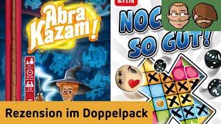 Abra Kazam! & Nochmal So Gut! - Review im Doppelpack