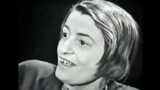 Ayn Rand 1st TV Interview w/ Mike Wallace - Debating Objectivism (Randism) 1959