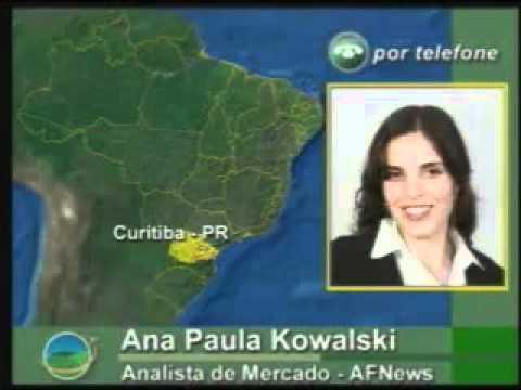 Boletim AF NEWS 05/02/10  Entrevista com Ana Paula Kowalski