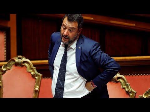 Ιταλία: Η Λέγκα καταθέτει πρόταση μομφής κατά της κυβέρνησης…