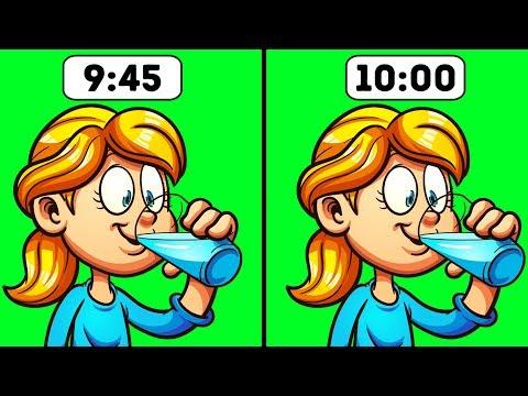 9 Situações em que você NÃO deve beber água