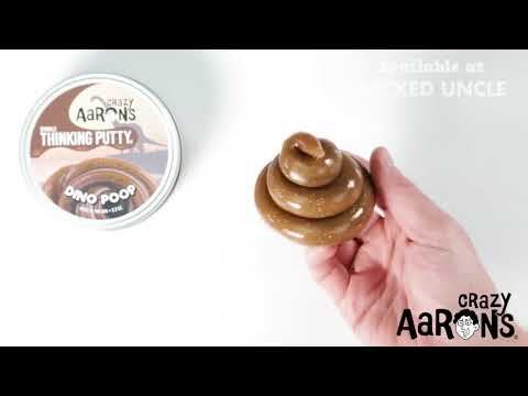 Youtube Video for Dino Poop - Sparkle Putty