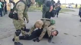 Драка  АТОшников с полицией Авакова. АЗОВ, АЙДАР, ДОНБАСС, БОРИСФЕН.