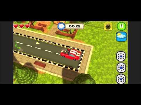 3D Car Parking Simulator Game Source Code in Unity